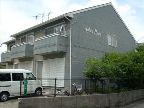 北九州市浅川アパート、外壁塗装前