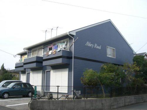 北九州市浅川アパート、外壁塗装工事アフター