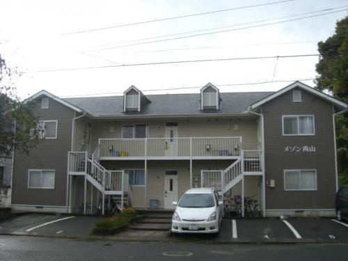 北九州市浅川アパート、塗装後