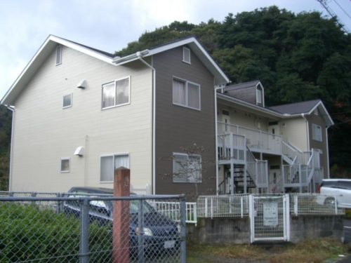 北九州市浅川アパート、塗り替え工事完了写真