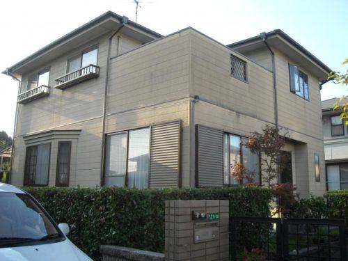 北九州市八幡西区一般住宅外壁塗装工事ビフォー画像