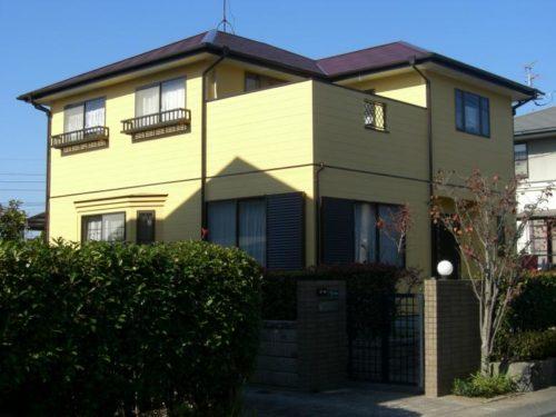 北九州市八幡西区本城一般住宅外壁塗装工事アフター
