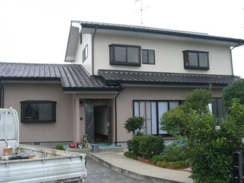 北九州市八幡西区楠橋住宅外壁塗装工事ビフォー