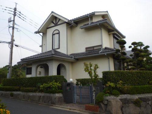 北九州市若松区青葉台外壁・屋根塗装前