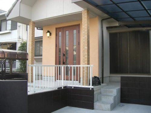北九州市八幡西区本城外構部分塗装工事アフター