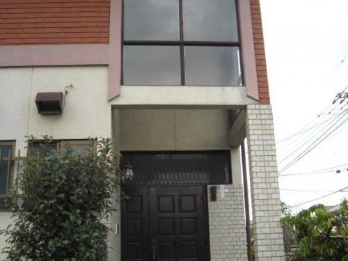 北九州市小倉南区南方一般住宅アクセント部塗装前