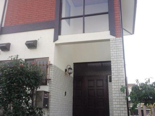 北九州市小倉南区南方一般住宅アクセント部分塗装アフター