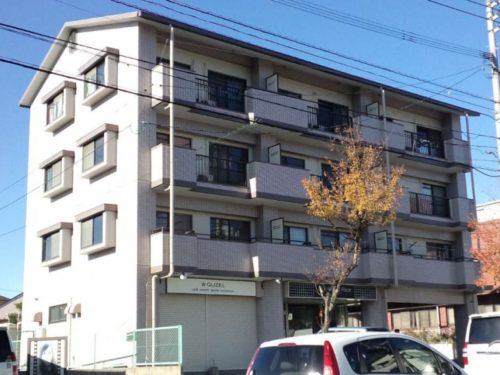 北九州市若松区高須南アパート、塗装後