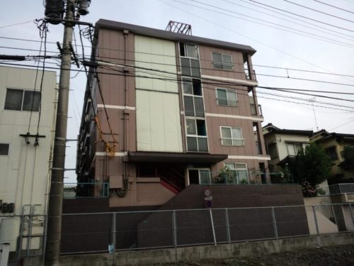 北九州市八幡西区熊西アパート、塗装後