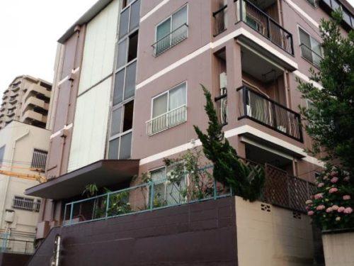北九州市八幡西区熊西アパート、塗り替え工事完了
