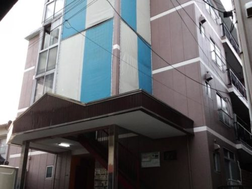 北九州市八幡西区熊西アパート、塗分け施工完了写真