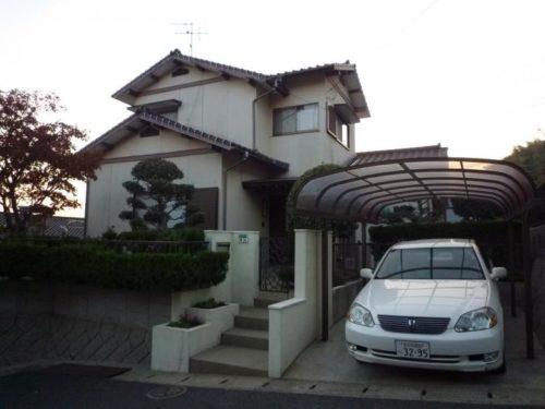 北九州市若松区東二島外壁屋根塗装工事前