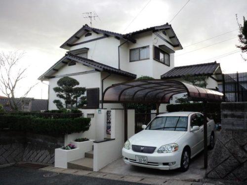 北九州市若松区東二島、屋根外壁塗装工事アフター