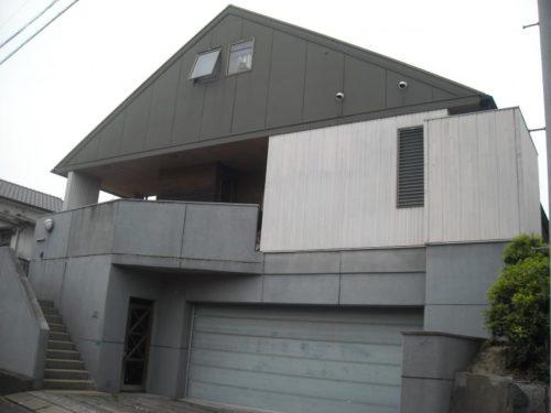 北九州市若松区上原町RC工法一般住宅外壁塗装前