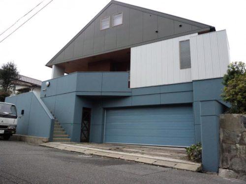 北九州市若松区上原町RC工法一般住宅外壁塗装アフター