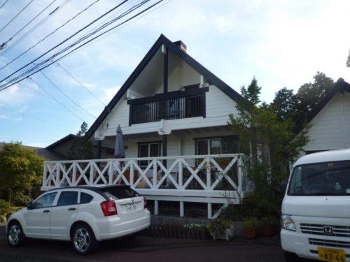 朝倉市美奈宜の杜、コテージ風住宅の塗装工事アフター