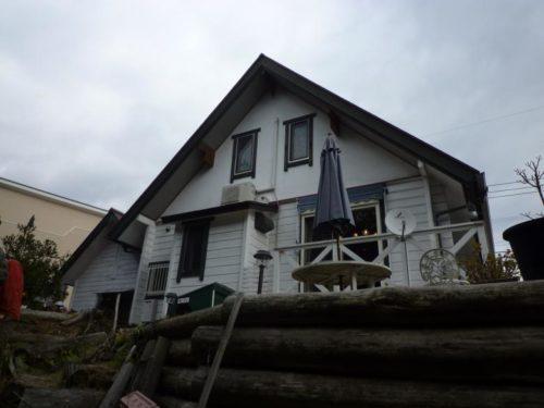 朝倉市美奈宜の杜、塗装工事ビフォー