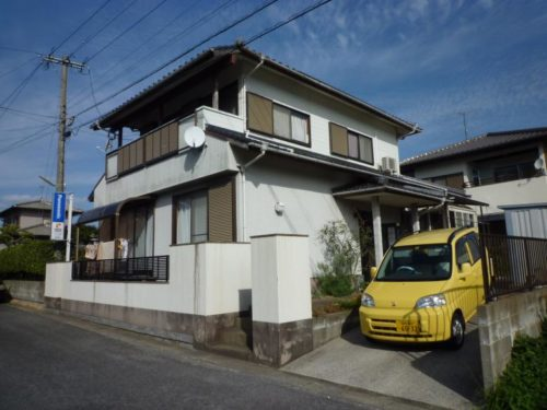 福津市若木台、一般住宅塗装工事施工前写真