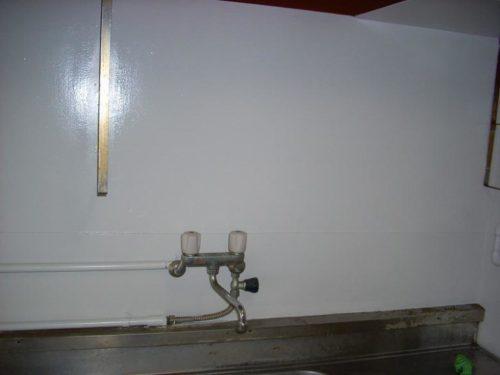 賃貸アパート、水回り塗装アフター