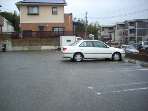 賃貸アパート、駐車場施工前