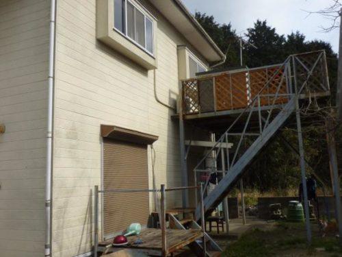 遠賀郡水巻町、壁面塗り替え前