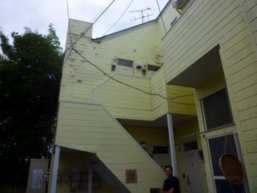 福岡市南区桧原アパート、施工前
