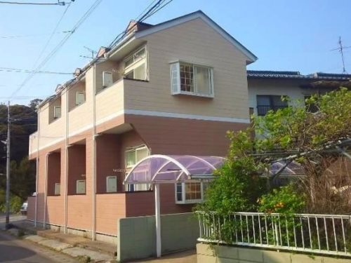 福岡市東区下原アパート、塗装工事完了画像