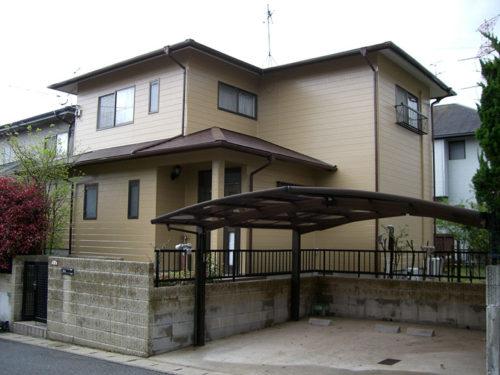 北九州市小倉南区、住宅塗装完了画像