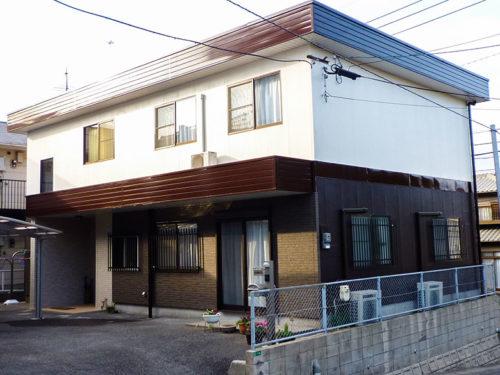 北九州市八幡西区、住宅外壁塗り替え後