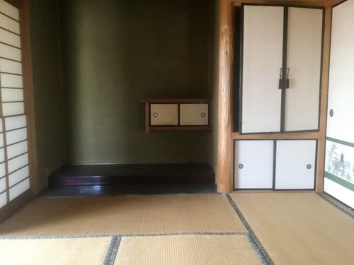 福岡県嘉麻市和室リフォーム前