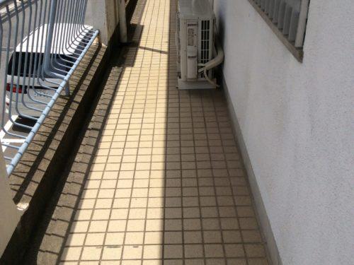 北九州市八幡西区黒崎アパート通路改修工事前