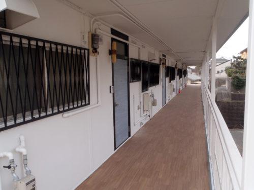 北九州市若松区アパート大規模修繕工事後