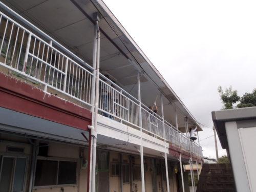 北九州市若松区アパート大規模改修工事前