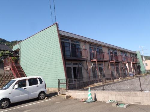北九州市若松区アパート大規模修繕工事ビフォー